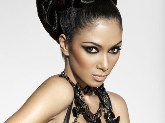 Nicole-Scherzinger-Brown-Eyed-Brunette-Face-Eyes-Hair-Make-Up-Singer-Celebrity-