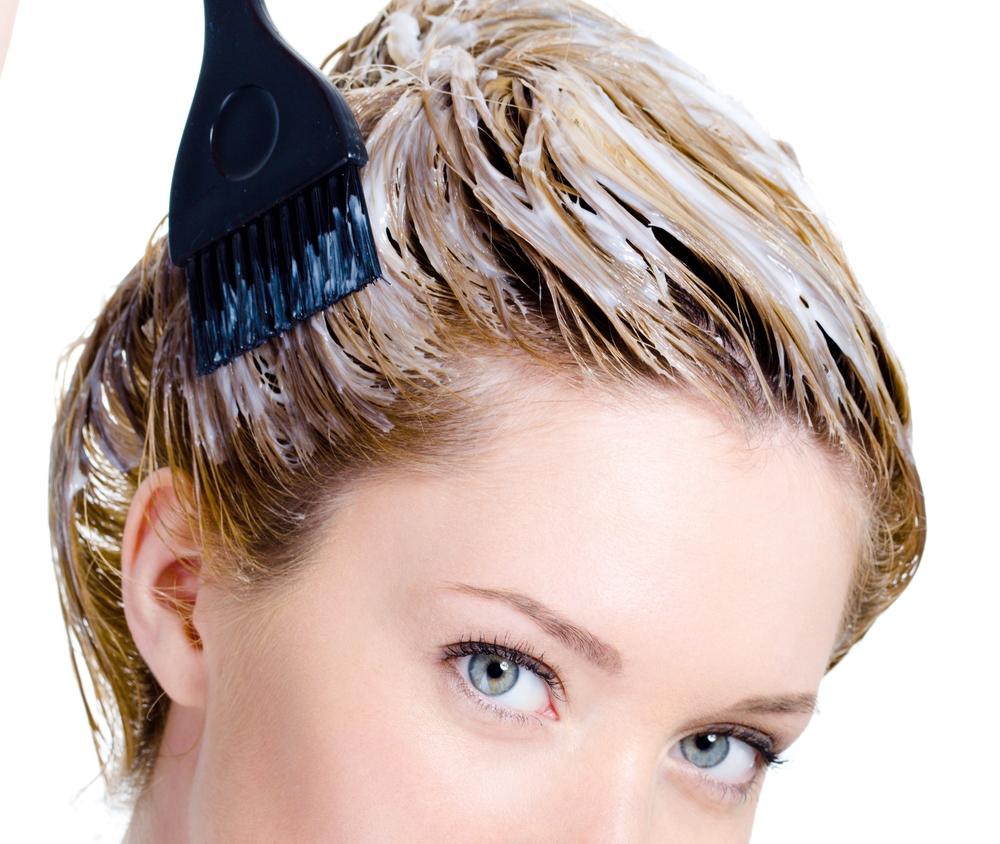 классическая схема окрашивания волос фото