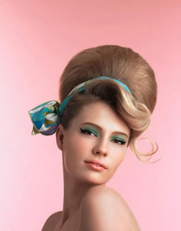 Как уложить волосы повязкой