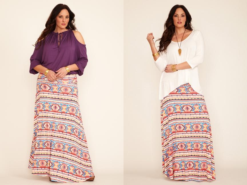 летние юбки для полных женщин фото