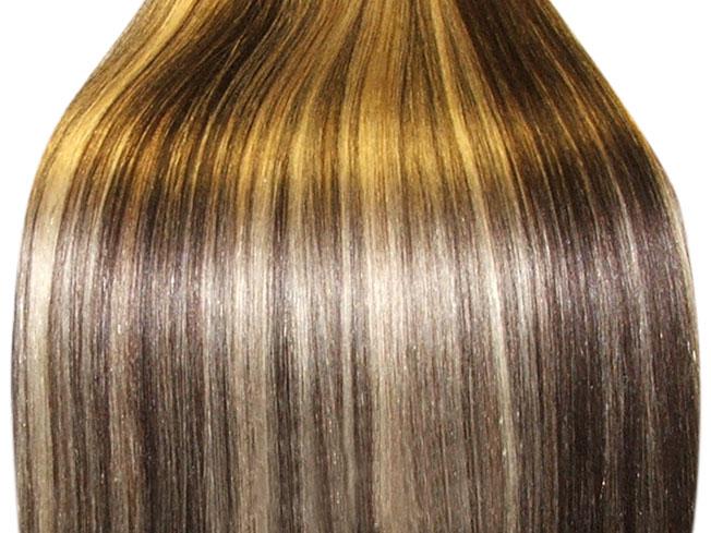 Фото с мелированием волос