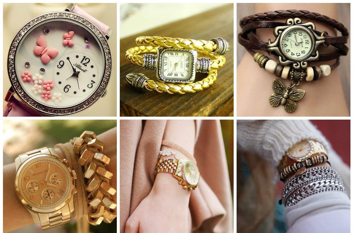 Модные тенденции женских часов