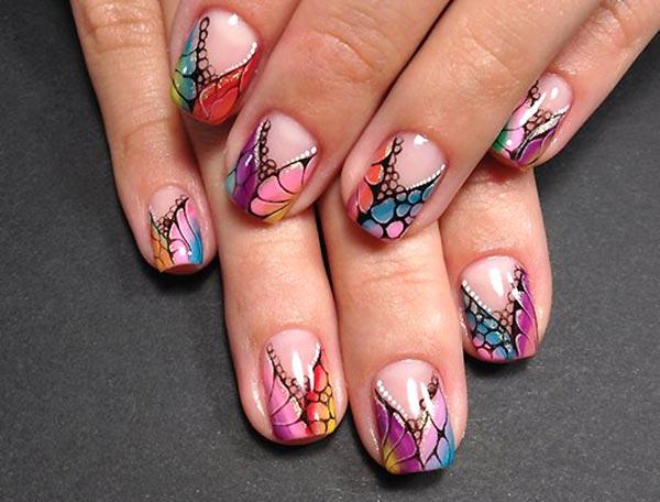Фото гель лака на ногтях дизайн на коротких ногтях