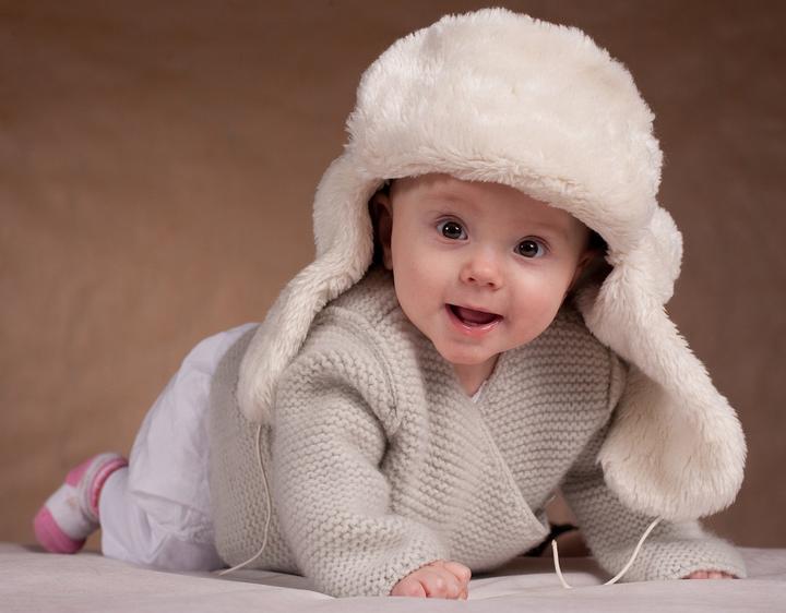 шапка для малыша