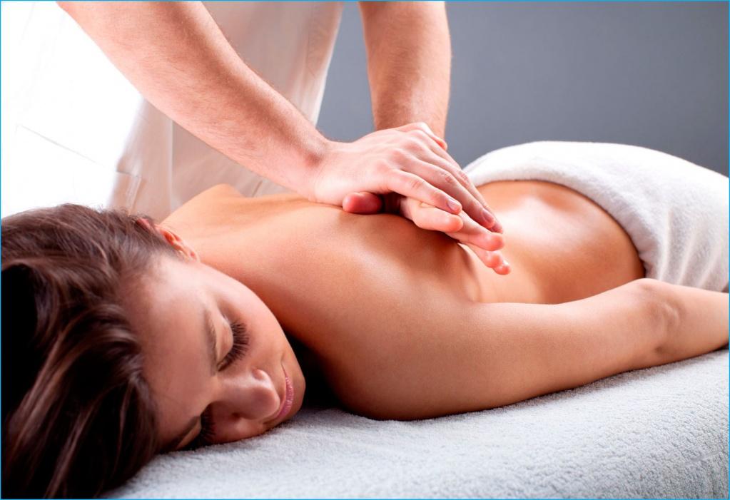 Как девушки делают массаж