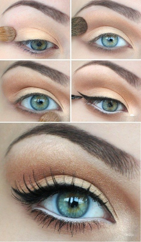Eye make up natural