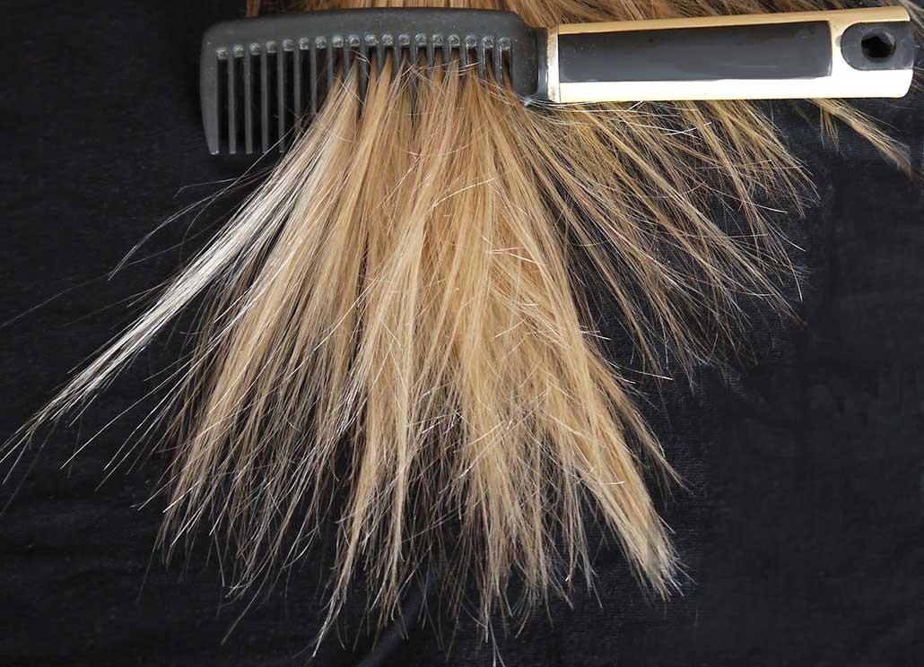 Маска для волос с яйцом и желатином