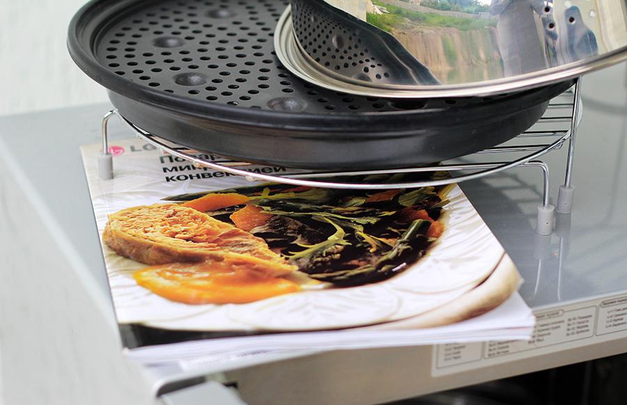 Что можно приготовить в микроволновке с грилем рецепт 70