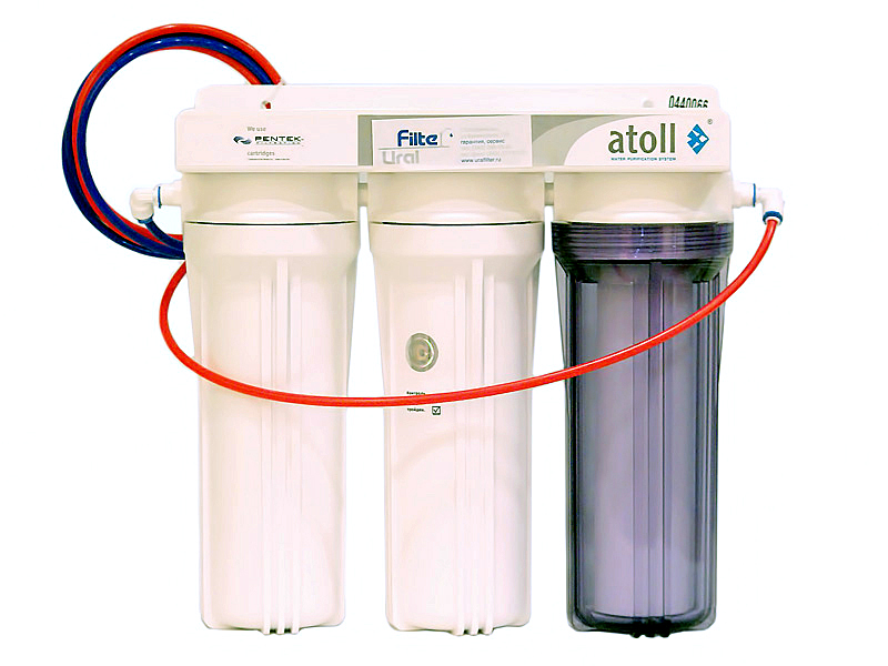 какой фильтр для воды трёх ступенчатый либо обратного осмоса