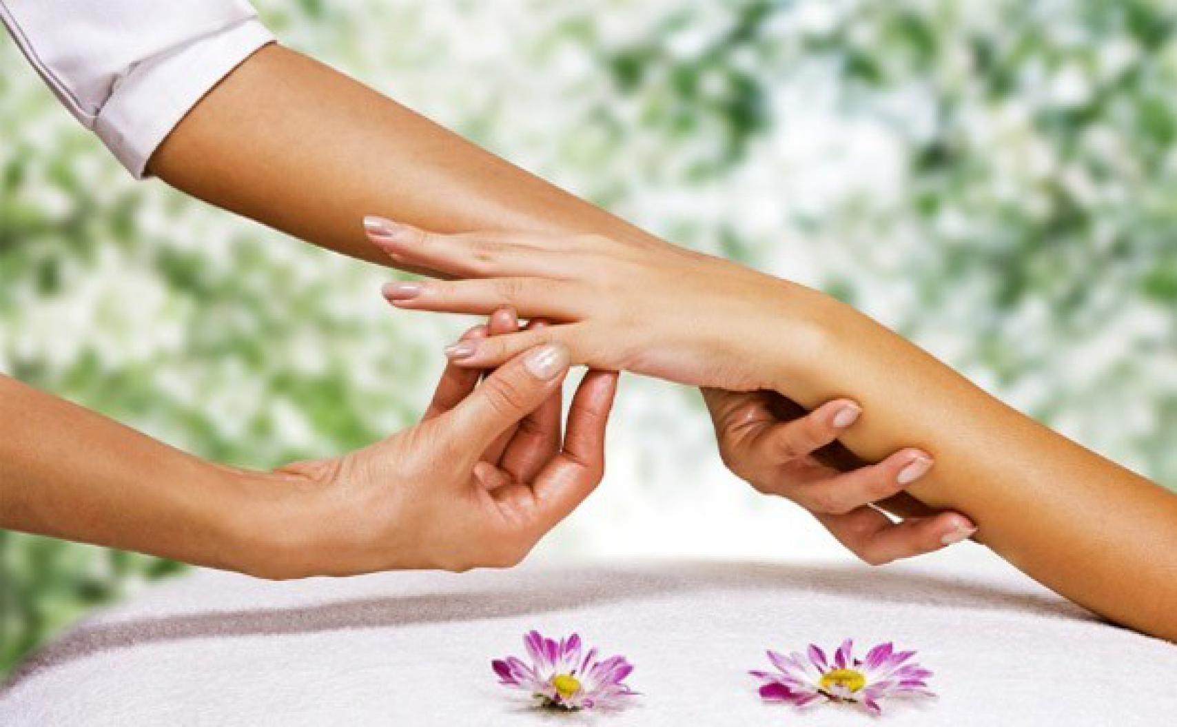 массаж фото рук