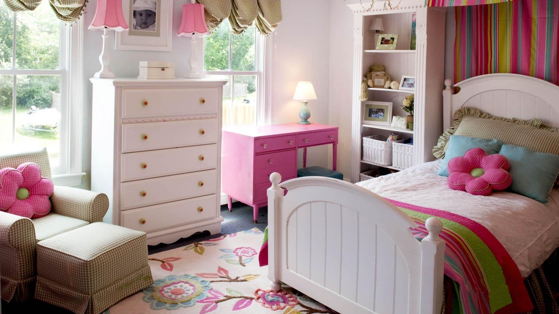 Идеи для детской комнаты для девочек 7 лет фото