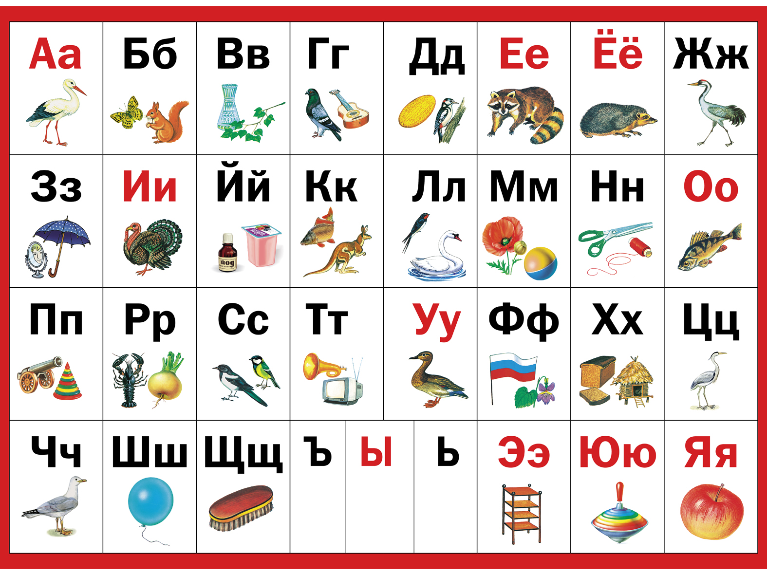 Когда учить ребенка алфавиту