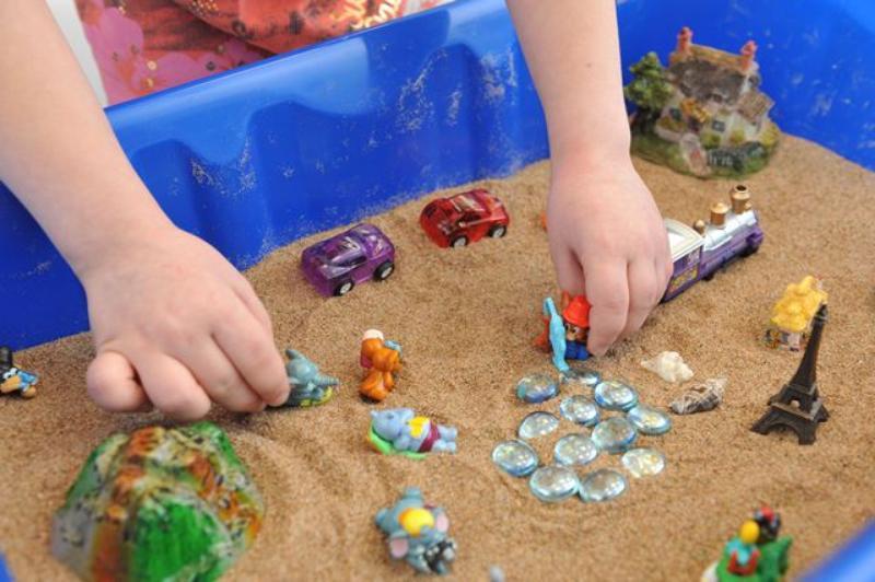 Скачать песочная терапия для детей занятия программа