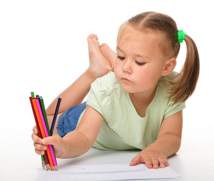 характер ребенка рисует
