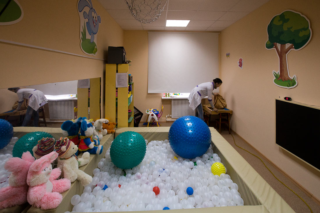 в фото комната сенсорная детском саду