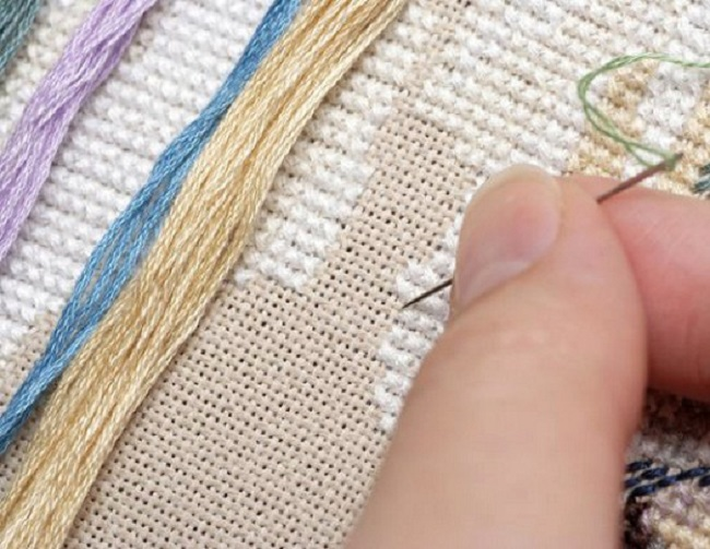 Подготовка к вышивке крестом 20