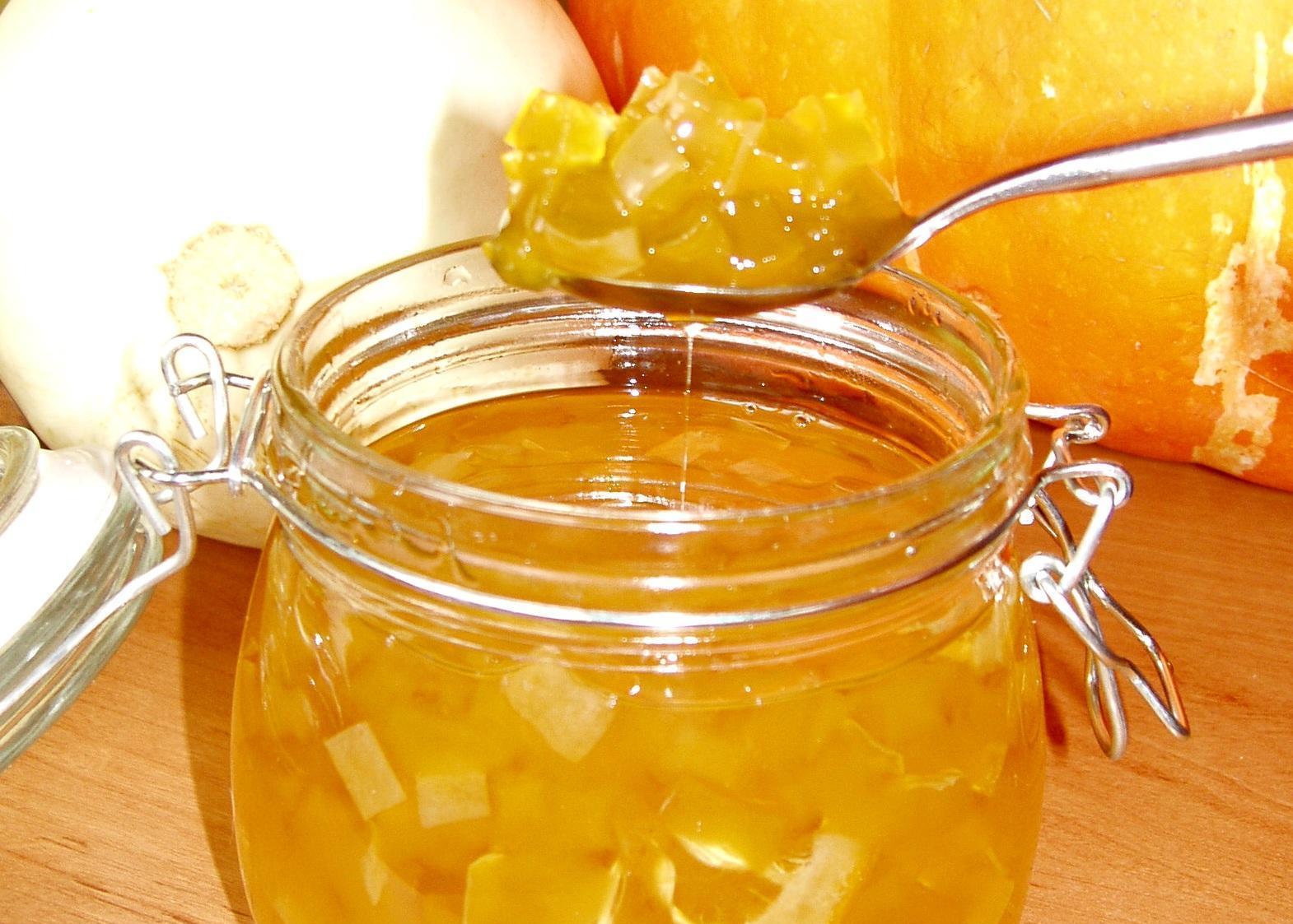 Варенье из кабачков с лимоном рецепт пошагово на зиму