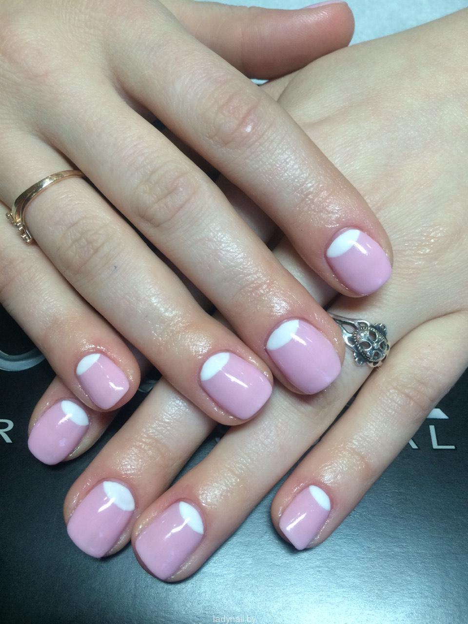 Дизайн коротких ногтей гель фото
