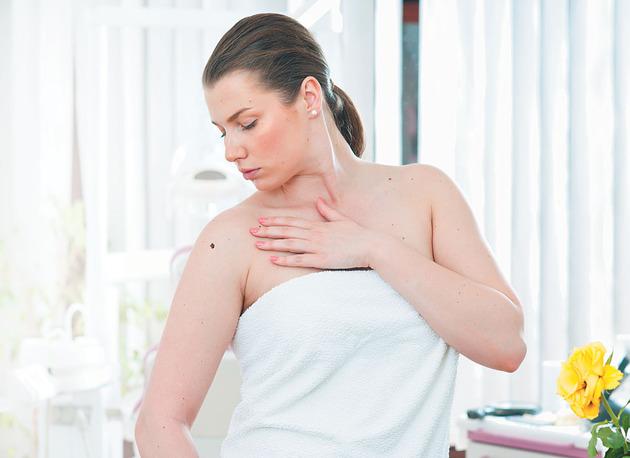 Появились папилломы на груди во время беременности