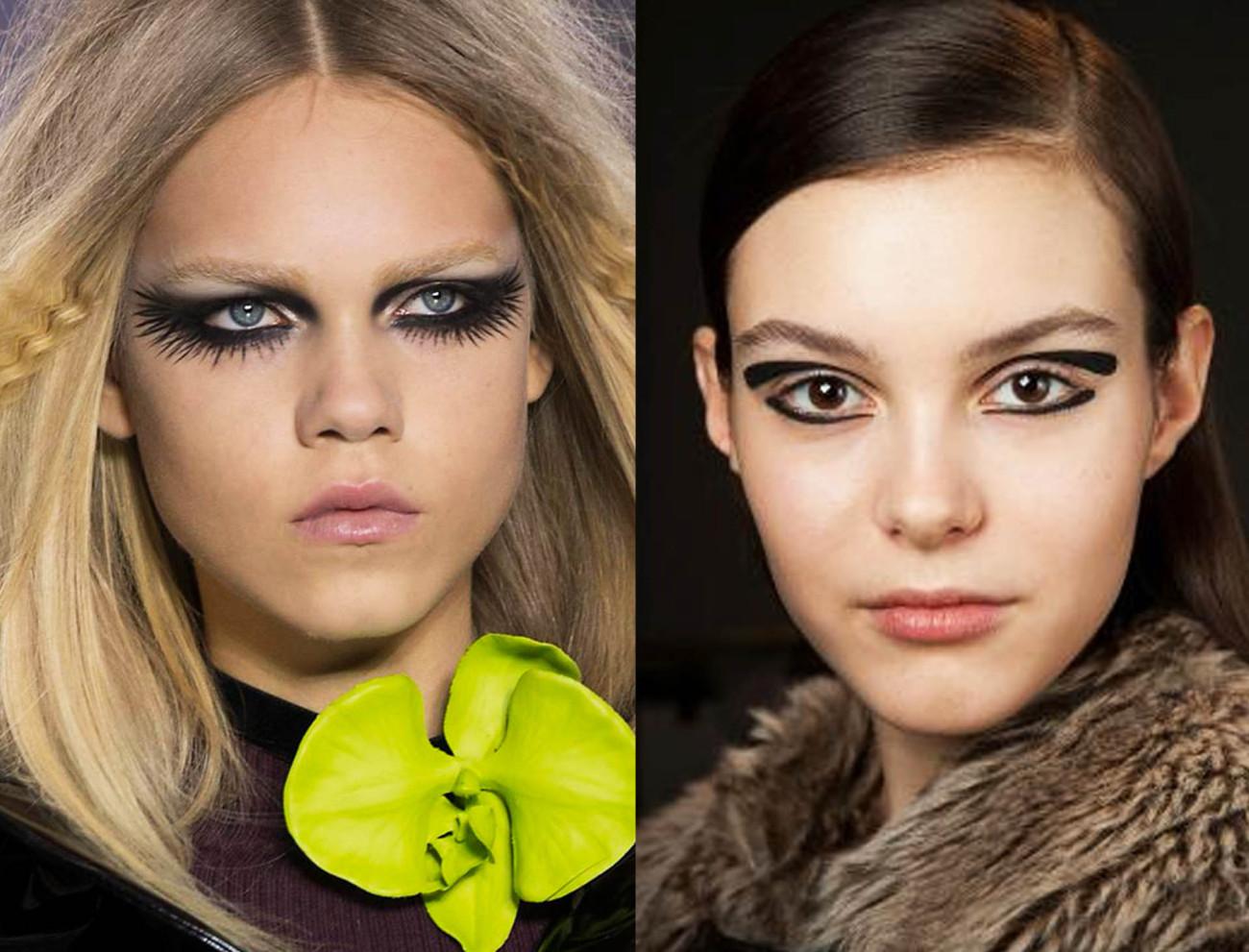 Какой модный сейчас макияж