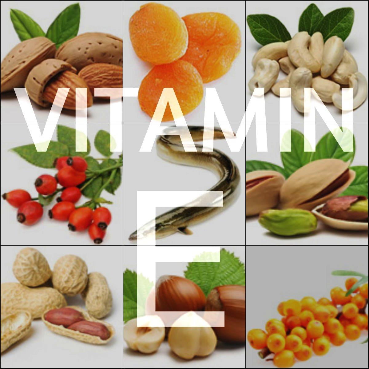 Необходимо употреблять в пищу продукты богатые содержанием витамина е и токоферола