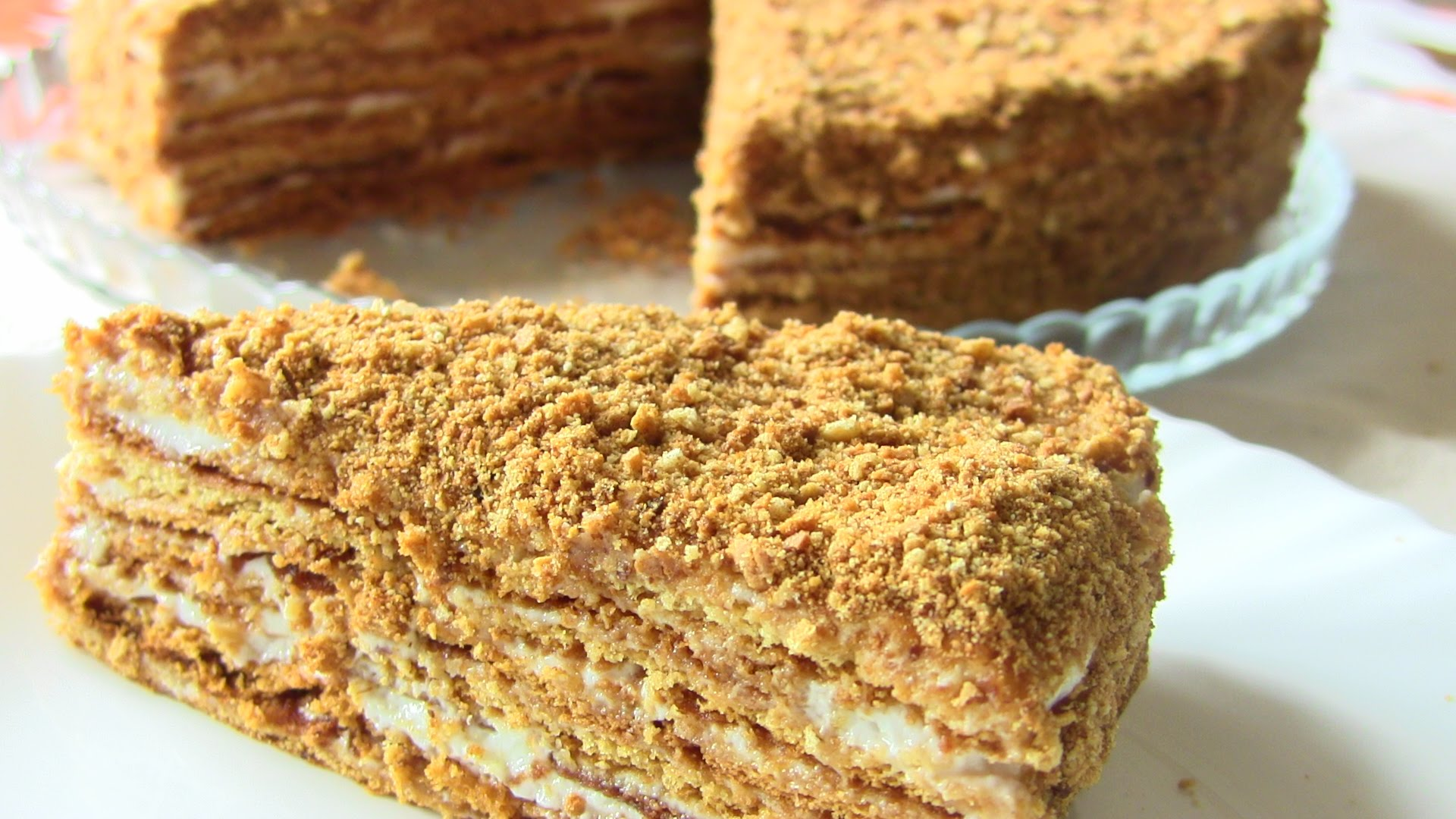 Как правильно сделать торт «Рыжик пошаговый рецепт с фото 18