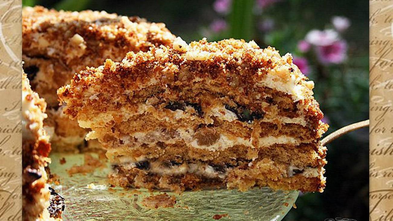 Рецепты тортов с орехами пошагово с фото