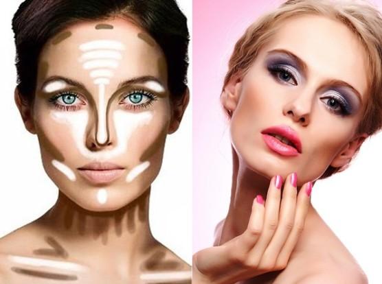 Как сделать визуально худым лицом