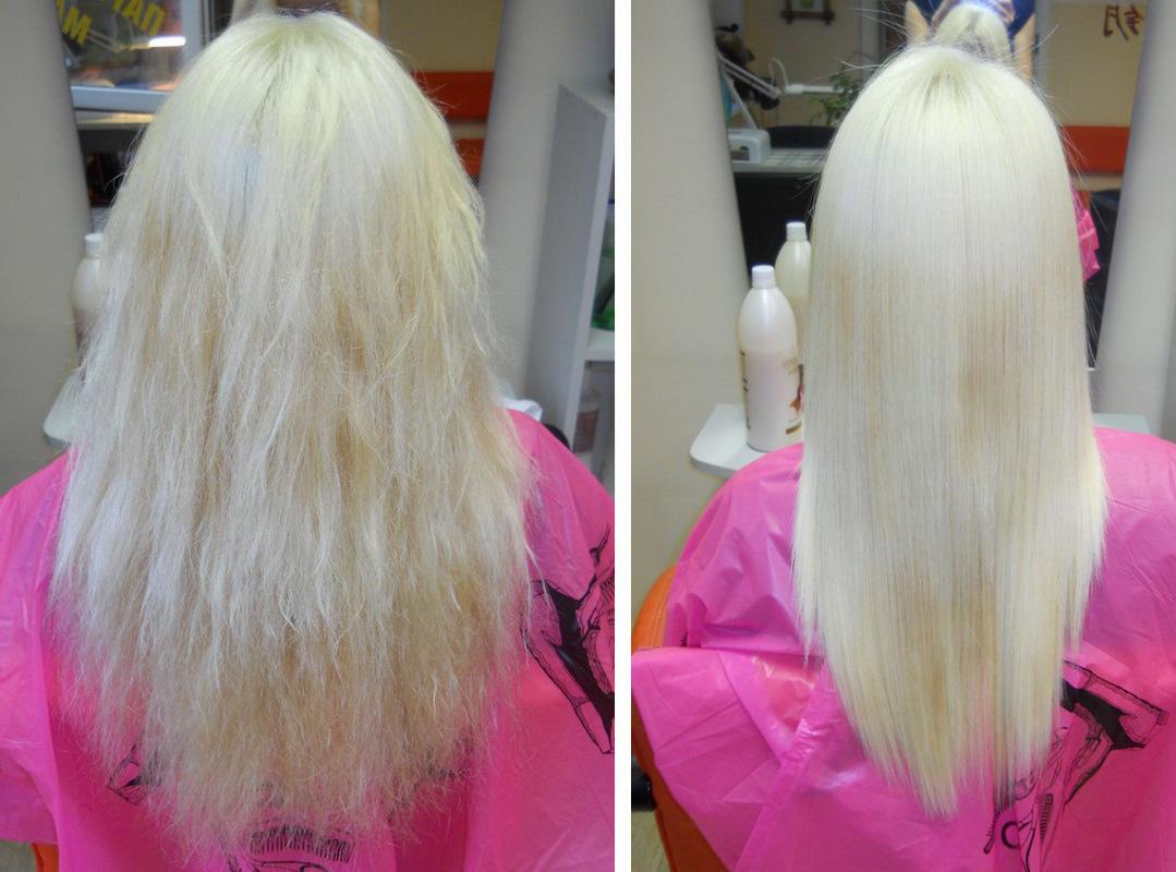 Ботокс для волос технология выполнения