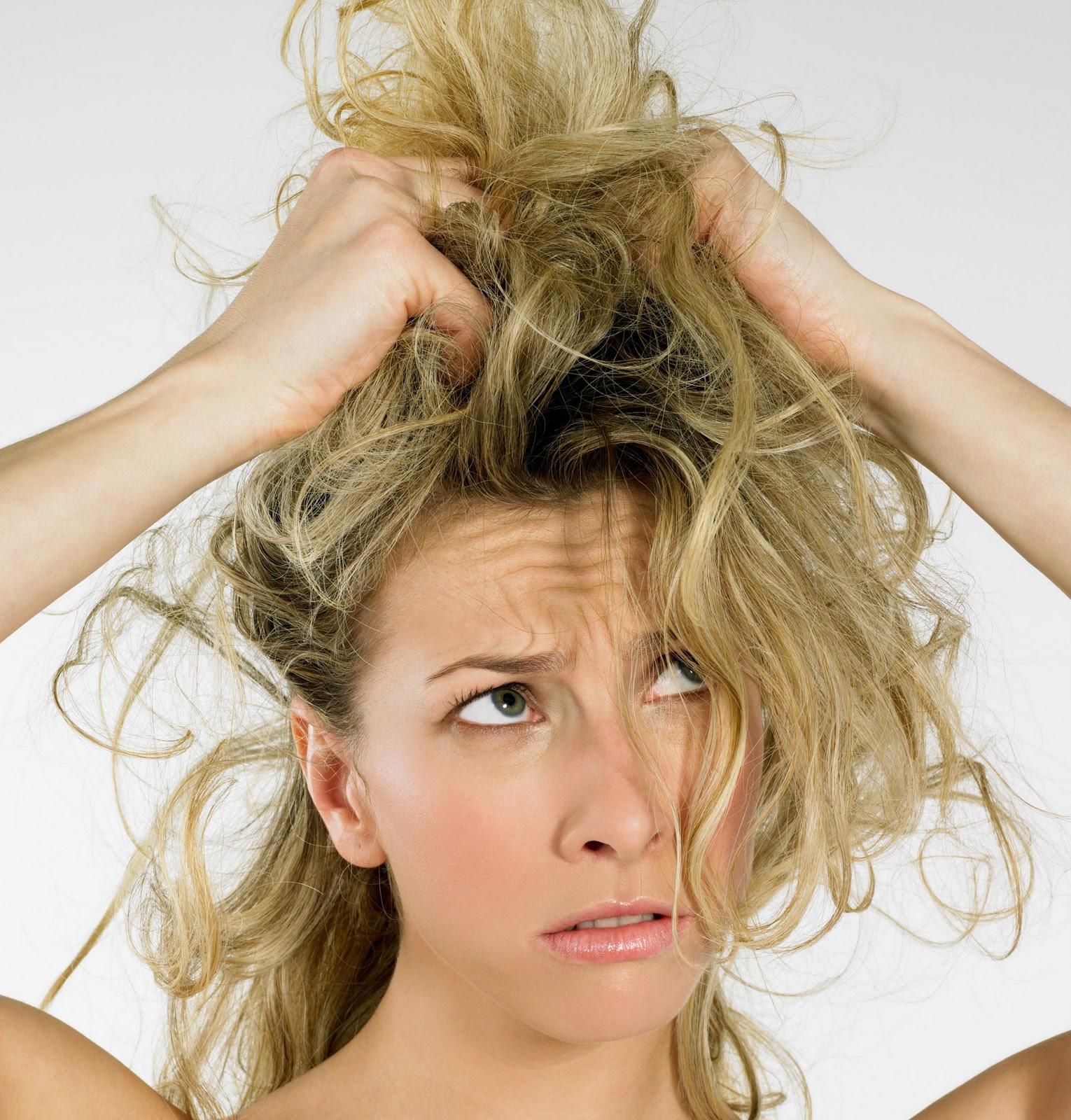 Как понять сухие или жирные волосы