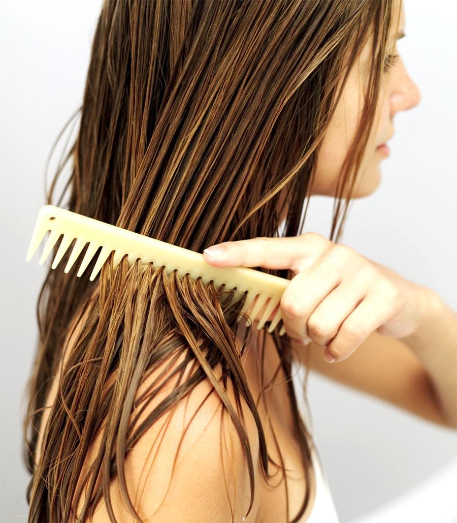 Разглаживающая маска для волос в домашних условиях