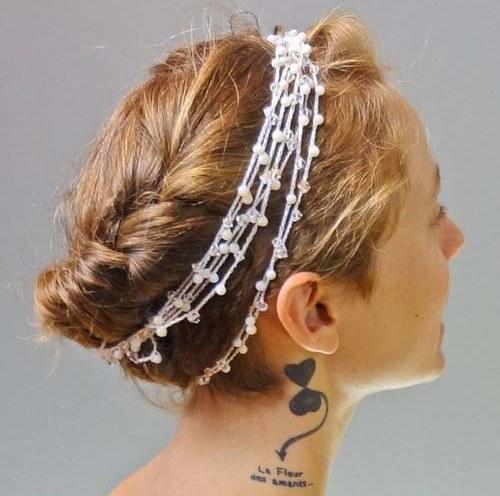 Греческие причёски на длинные волосы. Фото №8