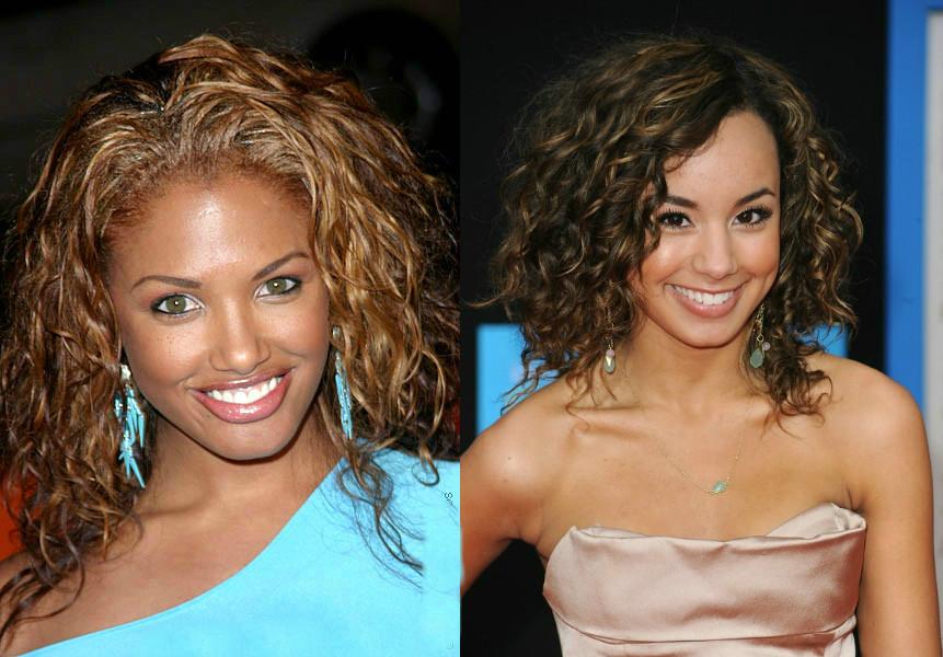 Эффект мокрых волос на короткие, средние волосы, на 5