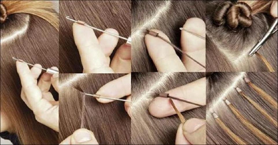 Горячее наращивание волос как снять