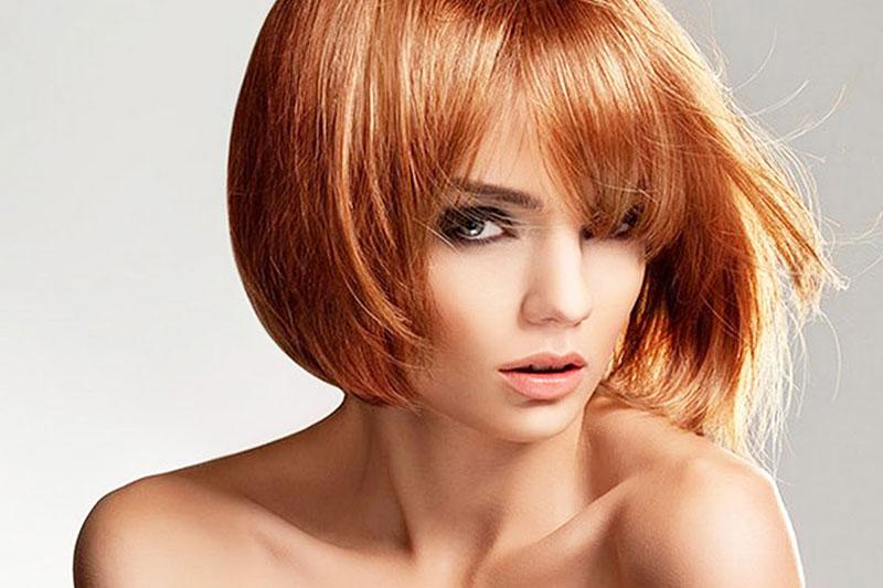 Каре стрижка с челкой на тонкие волосы фото