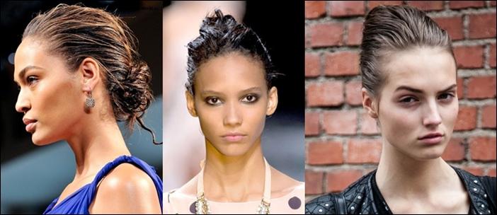 Как сделать эффект мокрых волос. Как сделать укладку с эффектом мокрых волос. Как сделать стильную романтичную прическу с эффект