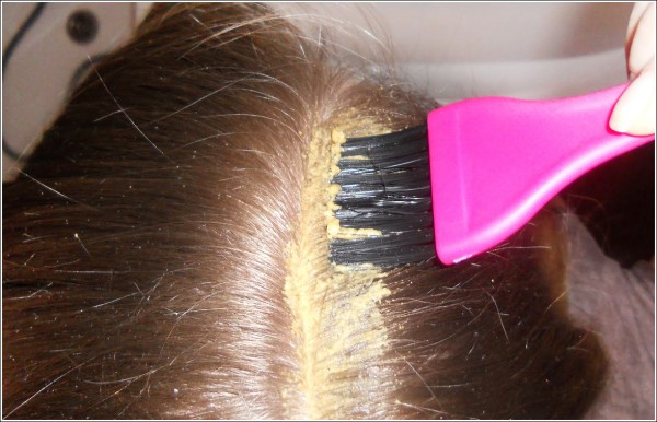 Маска для волос сахар горчица