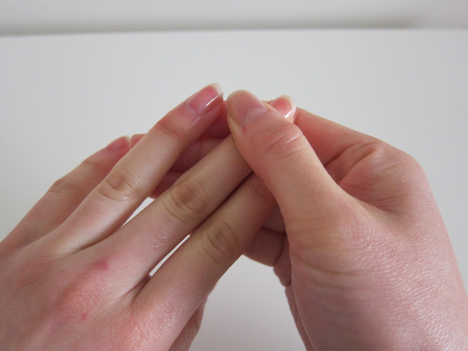 Как обрезать кожу вокруг ногтя на руках