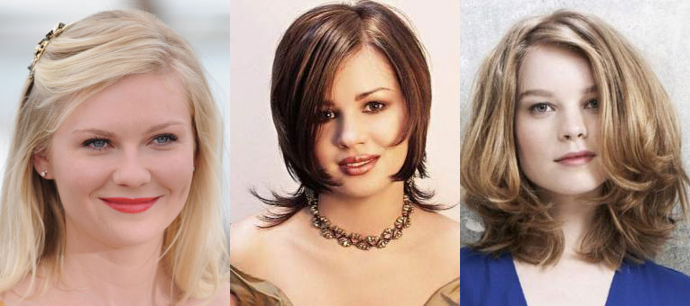 Каре для тонких волос и круглого лица фото