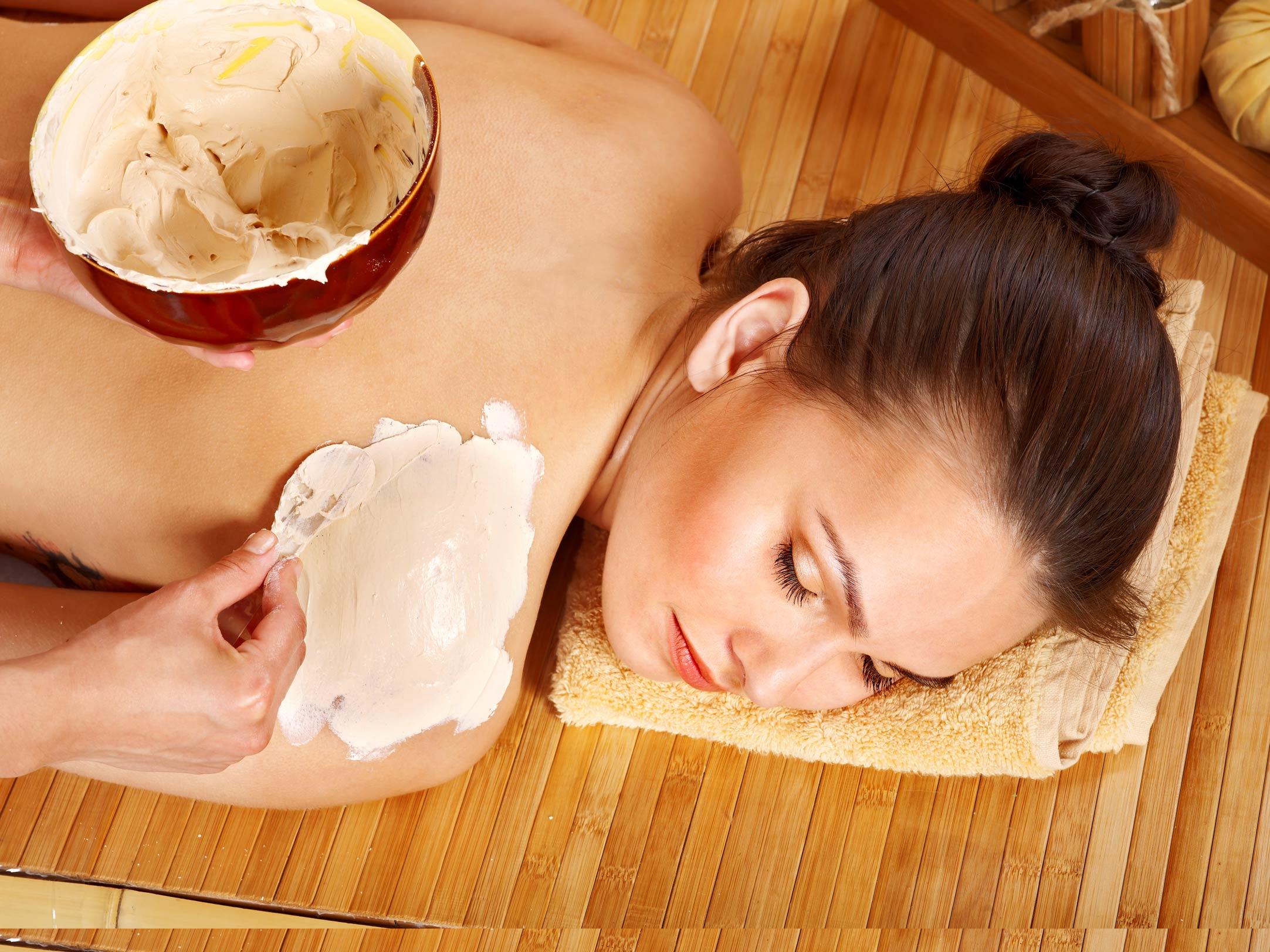 Фото массажа в бане 6 фотография