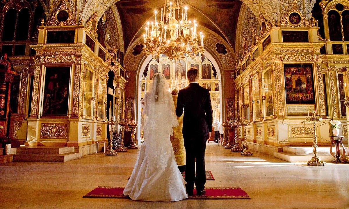 Венчание в православной церкви видео