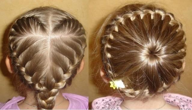 Как сделать косички для девочек с короткими волосами