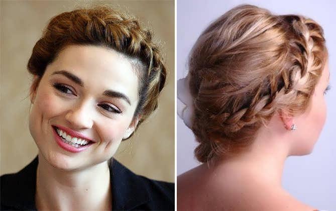 Плетение кос на короткие волосы: 10 вариантов с фото 81