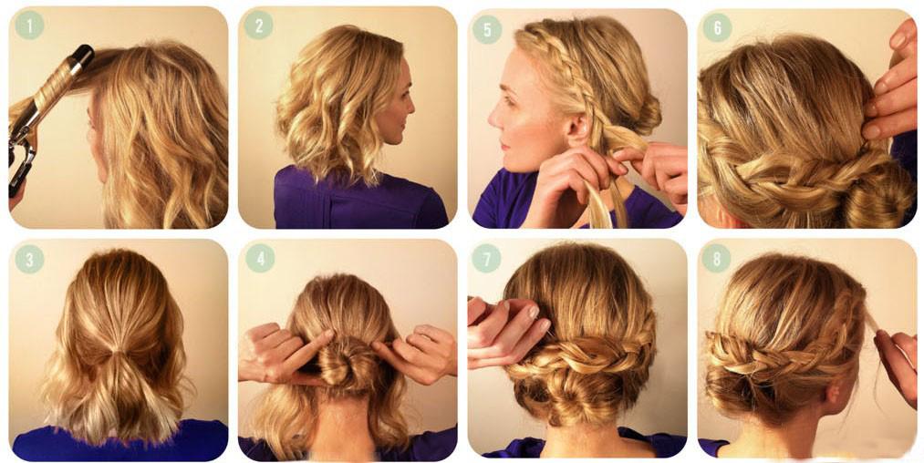 Что можно сделать на средних волосах