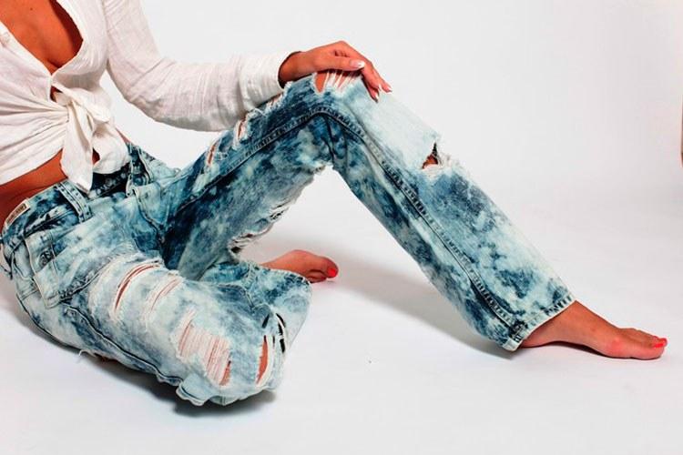 Что будет если сварить джинсы в домашних условиях