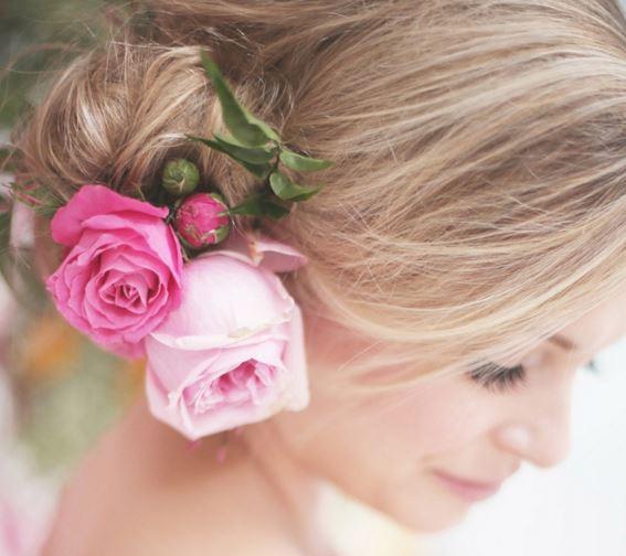 Украшение цветок в волосы своими руками