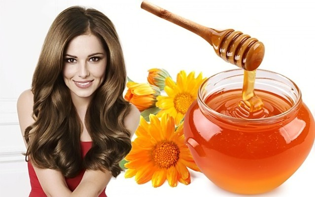 Мед для волос для укрепления и роста