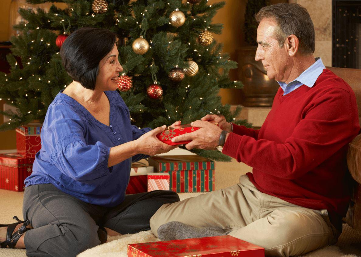 Подарки пожилым на новый год