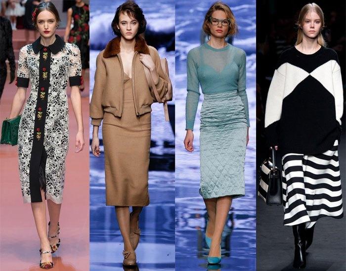 Модные Осени 2017 Года В Женской Одежде