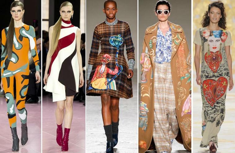 Модные ткани осень-зима 2018 в одежде